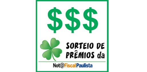 Sorteio Nota fiscal Paulista